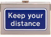 Anya Hindmarch Imperial Keep Your Distance Clutch Bag