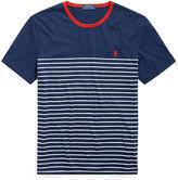 Big & Tall Polo Ralph Lauren Striped Cotton Jersey Tee