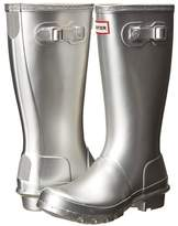 Hunter Original Metallic Rain Boot Girls Shoes