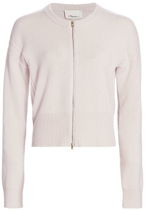 3.1 Phillip Lim Wool & Cashmere Zip Cardigan