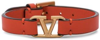 Valentino VLOGO leather bracelet