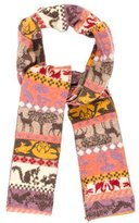 Stella McCartney Multicolor Printed Scarf