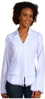 Scully Cantina Blouse (White) - Apparel