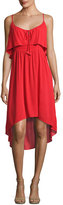 Ella Moss Katella Cami High-Low Dress, Red