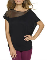 Felina Asymmetric Short Sleeve Top