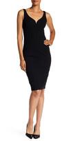 Donna Morgan Stretch Crepe Bodycon Dress