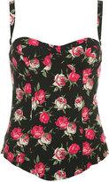 Rose Printed Corset