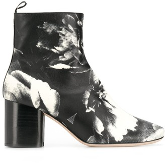 Paul Smith printed Moss ankle boots