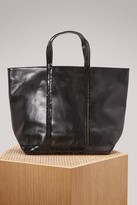 Vanessa Bruno Leather and sequins medium+ tote