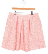Bonpoint Girls' Patterned A-Line Skirt