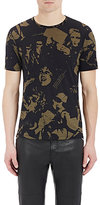 Maison Margiela Men's Slub Jersey T-Shirt-BLACK, BEIGE, NO COLOR