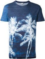 Orlebar Brown palm tree print T-shirt - men - Cotton - XL