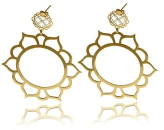 Georgina Jewelry Sun Flower Gold Signature Earrings