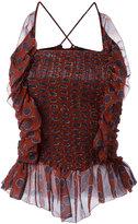 Etoile Isabel Marant Bowen top - women - Silk/Viscose - 36