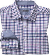 Johnston & Murphy Double Gingham Shirt