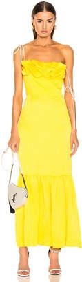 Hellessy Rosie Dress in Daffodil   FWRD