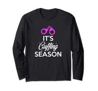 Jamrock Cuffing Season Apparel It's Cuffing Season Long Sleeve T-Shirt