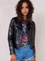 MinkPink New Women's Sentimental Biker Jacket