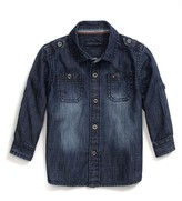 Tommy Hilfiger Epaulette Denim Shirt