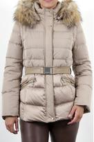 Intuition Paris Beige Microfiber Coat