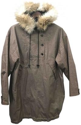 H&M Studio Studio Camel Cotton Coat for Women
