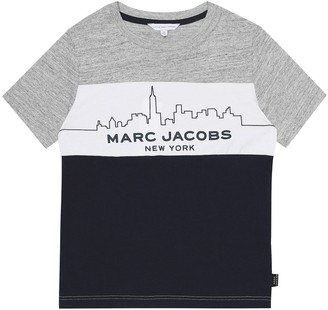Little Marc Jacobs Printed cotton T-shirt