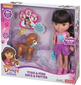 Fisher-Price Nickelodeon Dora & Friends Train & Play Dora and Perrito by
