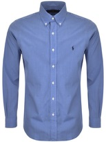 Ralph Lauren Long Sleeved Slim Fit Shirt Blue