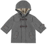 Mayoral Hooded Toggle Trenchcoat, Gray, Size 3-24 Months