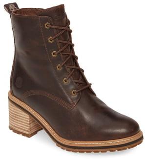 Waterproof Boots Women High Heel Shopstyle