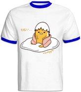 NC2FC Gudetama 100% Cotton T-shirt For Men RoyalBlue S Latest T Shirts
