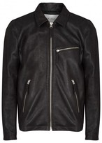 Our Legacy Black Grained Leather Jacket