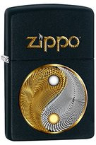 """Zippo Abstract Ying Yang"""" Black Color Lighter"""