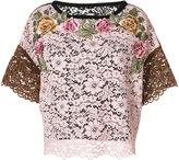 Antonio Marras embroidered top