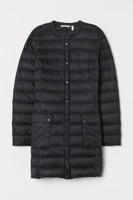 H&M Long, lightweight down jacket