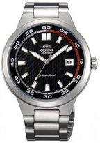 Orient #ER1W001B Men's Brazen Stainless Steel Dial Self Winding Automatic Watch