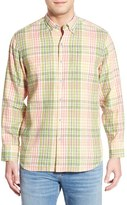 Tommy Bahama 'Sun Direction' Regular Fit Plaid Sport Shirt