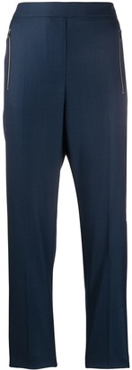 Stella McCartney Zipped Pockets Cropped Trousers