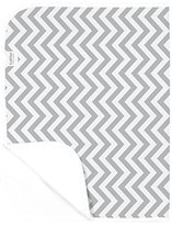 Kushies Baby Deluxe Change Pad, Grey Chevron