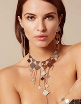 Agent Provocateur Adora Earrings Silver And Rose Gold