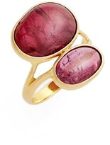 Pippa Small Women's 'Greek' Double Pink Tourmaline Ring