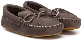 Pépé Lace Detailed Moccasin Shoes