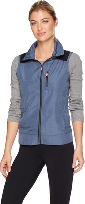 Nanette Lepore Play Women's Packable Lasercut Vest