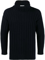 Etro roll neck ribbed sweater
