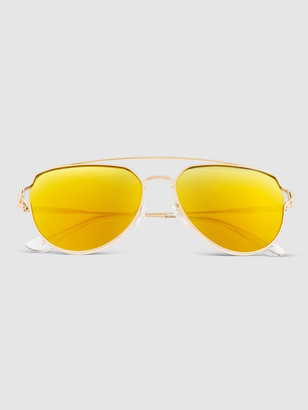 Sixty One Sunglasses Nudge Aviator Sunglasses