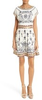 Alice + Olivia Women's Gertie Embellished Shift Dress