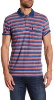 Lucky Brand Multi Stripe Polo Shirt