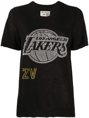 Zadig & Voltaire x NBA Lakers crew neck pullover