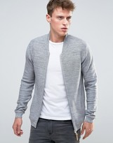 Esprit Knitted Bomber Jacket