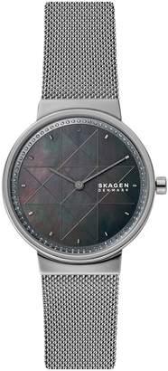 Skagen Annelie Stainless Steel Bracelet Watch